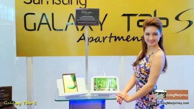 Ms. Coleen Garcia at Samsung Galaxy Tab S Apartment