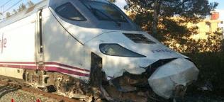Un Euromed Barcelona - Alicante descarrila a las 17:38 h en Tarragona sin causar heridos