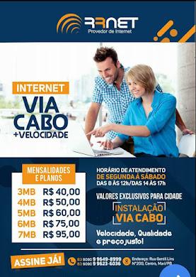 RR NET NOVO PROVEDOR DE INTERNET