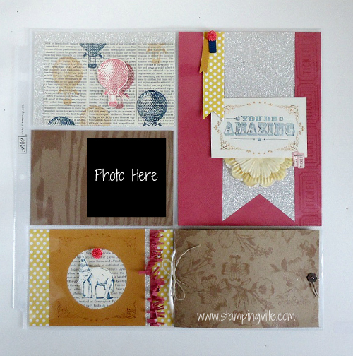 Divided 12x12 Page Protectors by Stampin' Up!