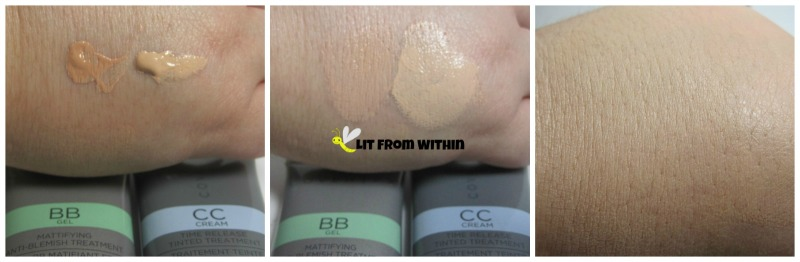 Cover FX BB Gel and CC Cream