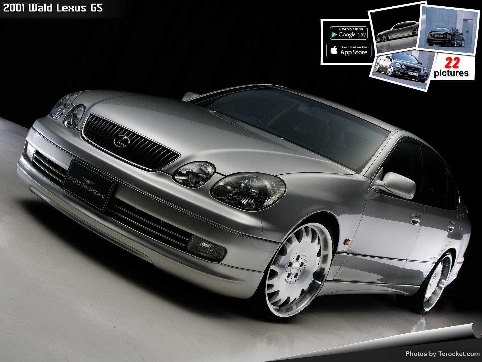 Hình ảnh xe độ Wald Lexus GS 2001 & nội ngoại thất