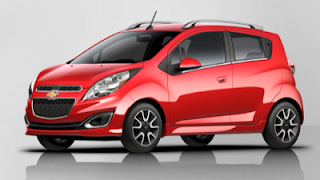 2013 Chevrolet Spark Salsa Red