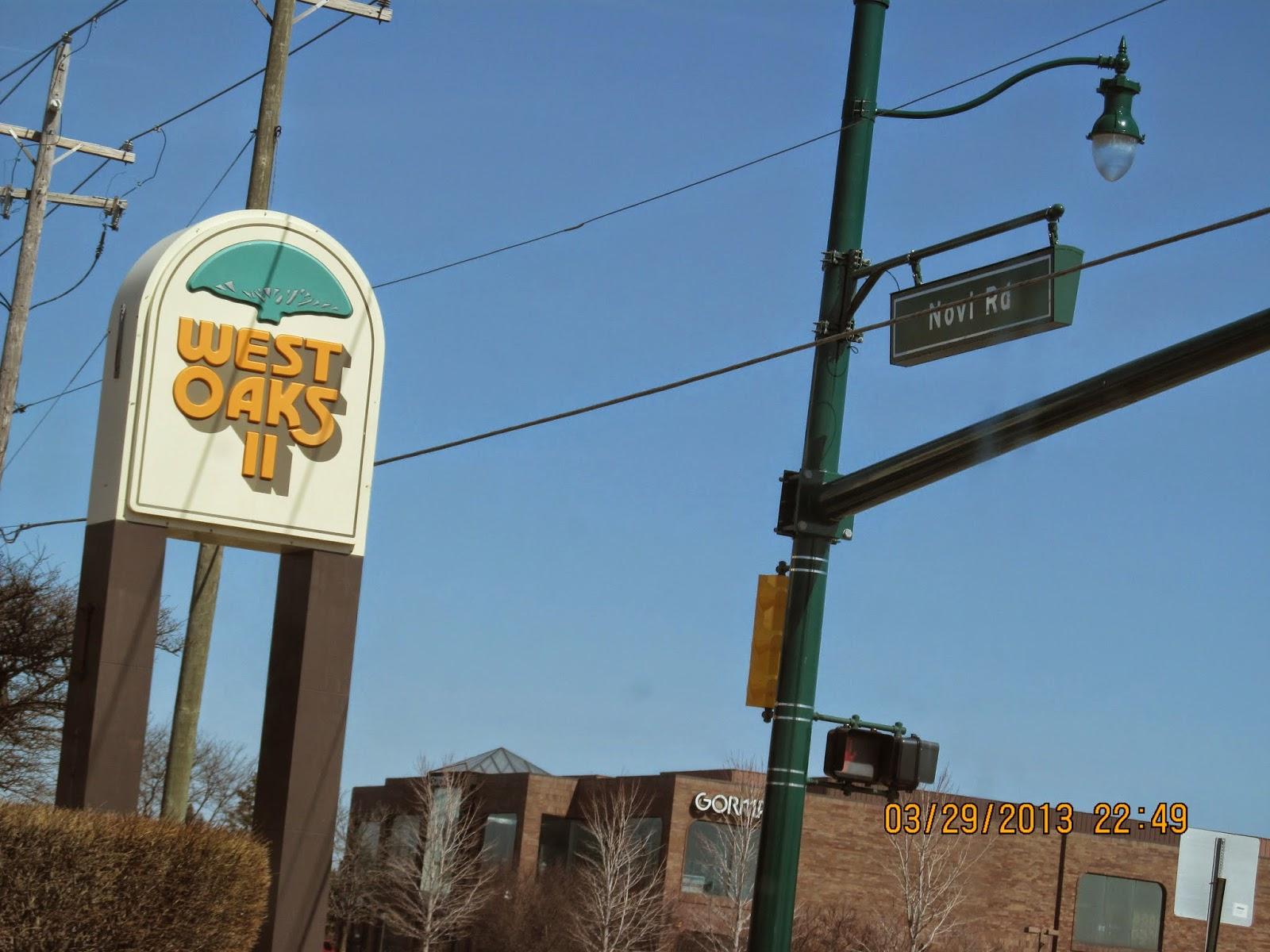 Trip to the Mall: Twelve Oaks Mall- (Novi, MI)