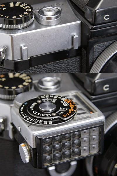 Il sistema fotografico Canon FD: Il sistema Canonflex