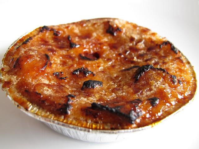 Pâtisserie Blé Sucré - Crème brûlée à la framboise et à la brioche