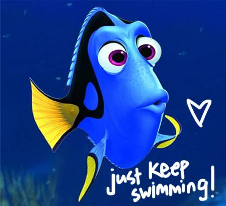 Just Keep Learning  Just Keep Learning    Dory Just Keep Swimming