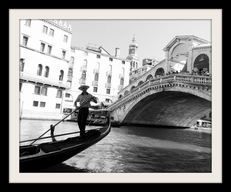 Venedik siyah beyaz