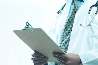 Doctor holding clipboard uid.16653349 My Lifes Journey just took a sharp Left Turn.......