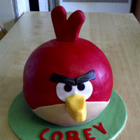 Delicious angry birds cake Pictures