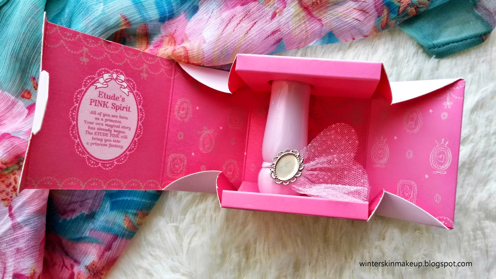 Etude House Dear My Blooming Lips Talk Etude Pink