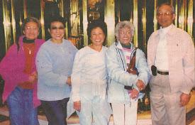Dagiti agkakabsat nga Asuncion: Manipud kanngid: Evelyn, Loretta, Maggie, Agnes ken Fred