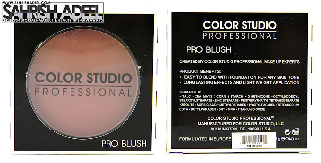 Color Studio Pro Blush in 'Havana' - Review & Swatches