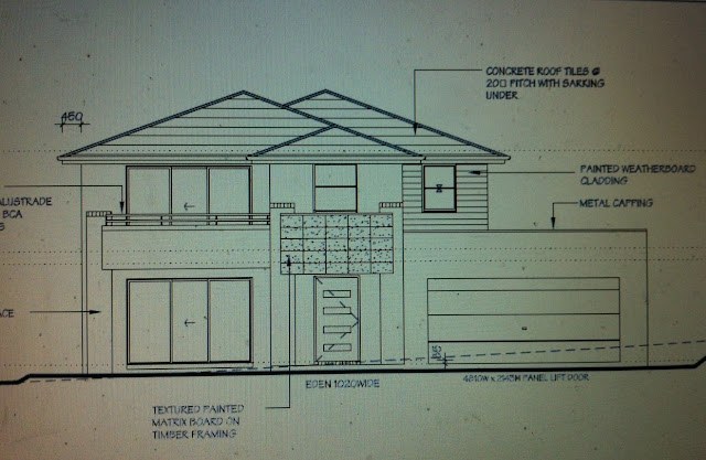 Changing The Front Elevation Of A House : Above front elevation omahdesigns