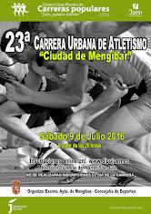 23ª CARRERA URBANA DE ATLETISMO - MENGIBAR -