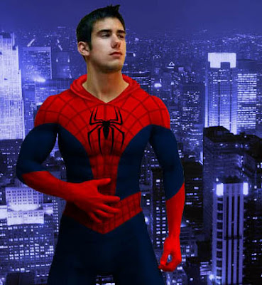 a studlier Spiderman