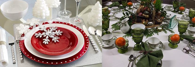 Como preparar la mesa de navidad decoracin en la mesa de - Como poner la mesa en navidad ...