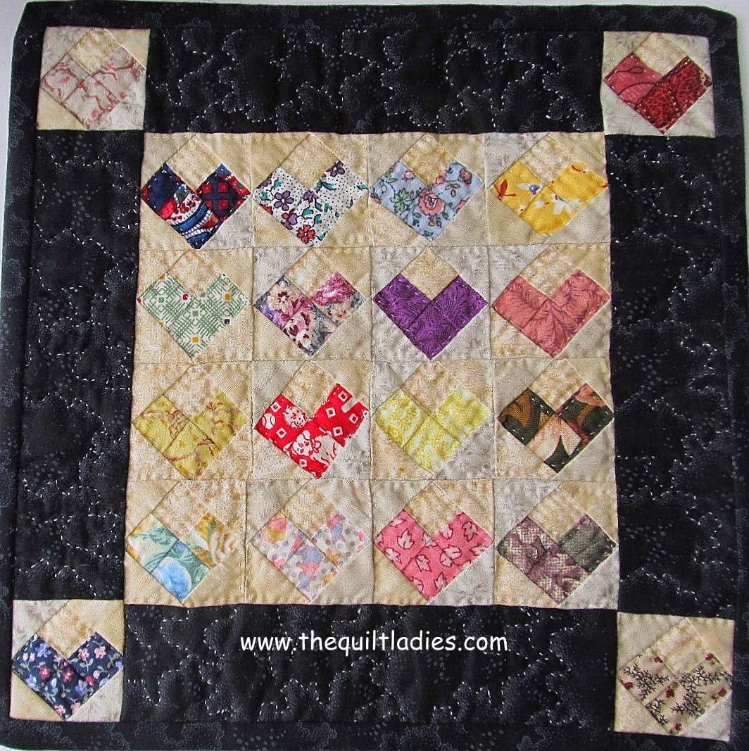 Valentine's Little Quilt by The Quilt Ladies