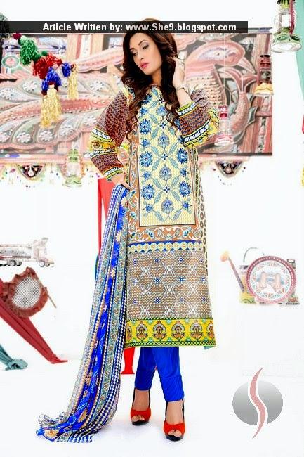Amna Ismail Lawn 2015-2016 Magazine