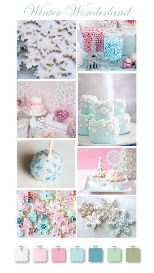 Winter Wonderland dessert table ideas by Torie Jayne