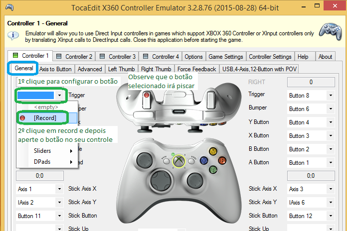 logitech dual action how to get games to recognise it