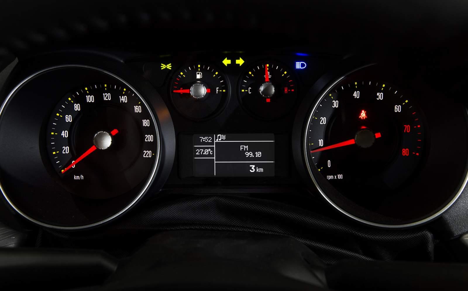 Novo Fiat Punto 2016 - painel