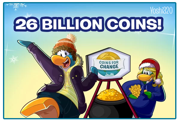 Coins for change 2014