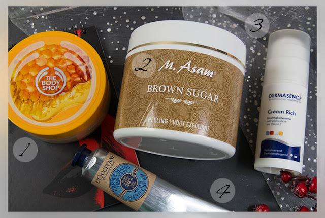 Beauty Jahresfavoriten 2015 Pflege Skincare the body shop m asam dermasence loccitane