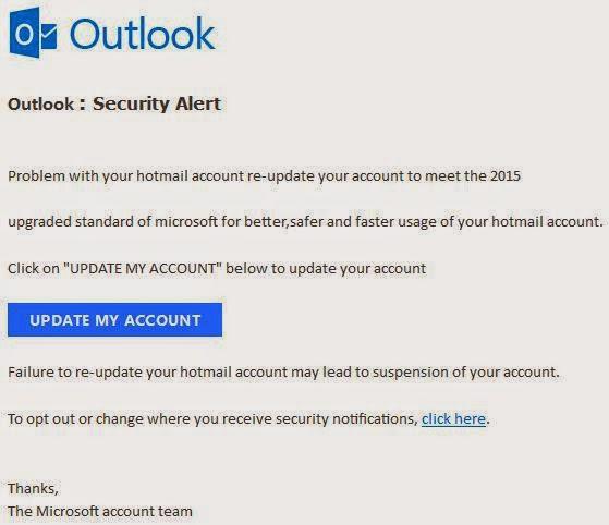 microsoft account problem