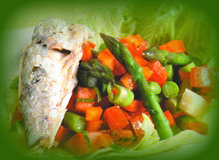 Espárragos con sardinas españolas