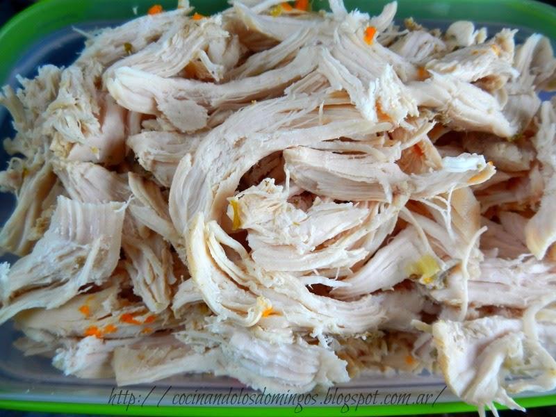 Souffle de pollo