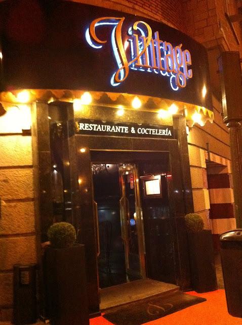 Vintage, lo último para cenar en Madrid- Lugares de moda en Madrid- Fashion restaurants in Madrid 2012- No puedes perdértelo