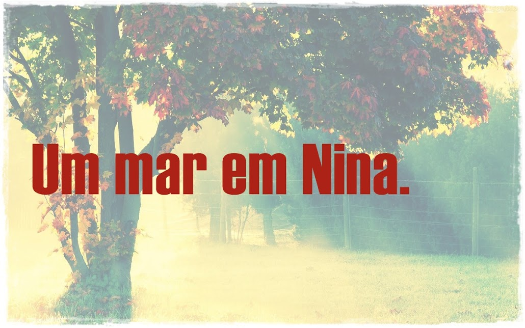 Um mar em Nina