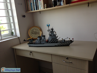 Enlighten Brick Toy Navy Ship 7