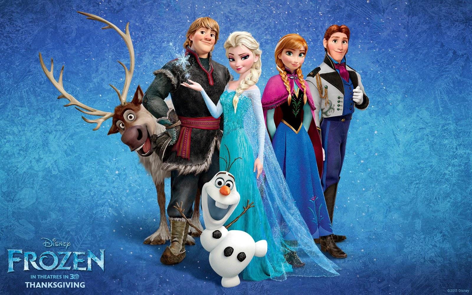 Nurvtech: Disney's Frozen Wallpaper (Various)