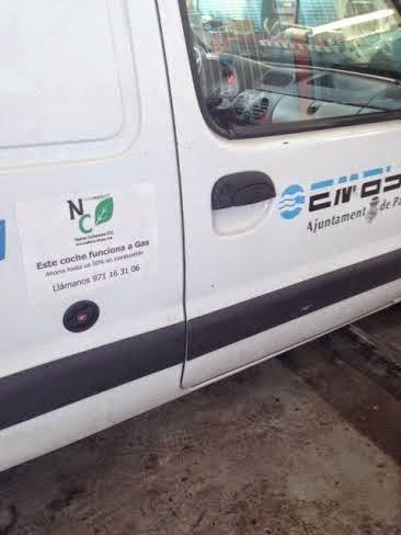 Emaya tendrá un punto de repostaje de gas natural en Son Pacs para sus vehículos