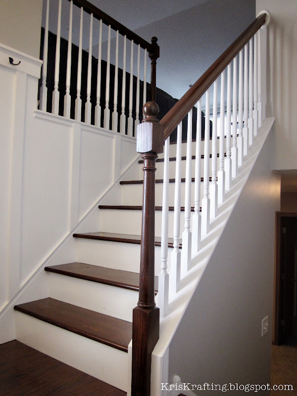 wood stair banisters and - photo #3