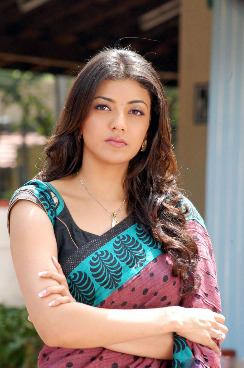 kajal aggarwal in saree new photos hd bollywood photos