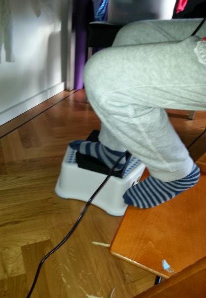 De oplossing voor als je te korte beentjes hebt!