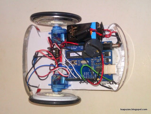 Tutorial sencillo robot con arduino proyectos