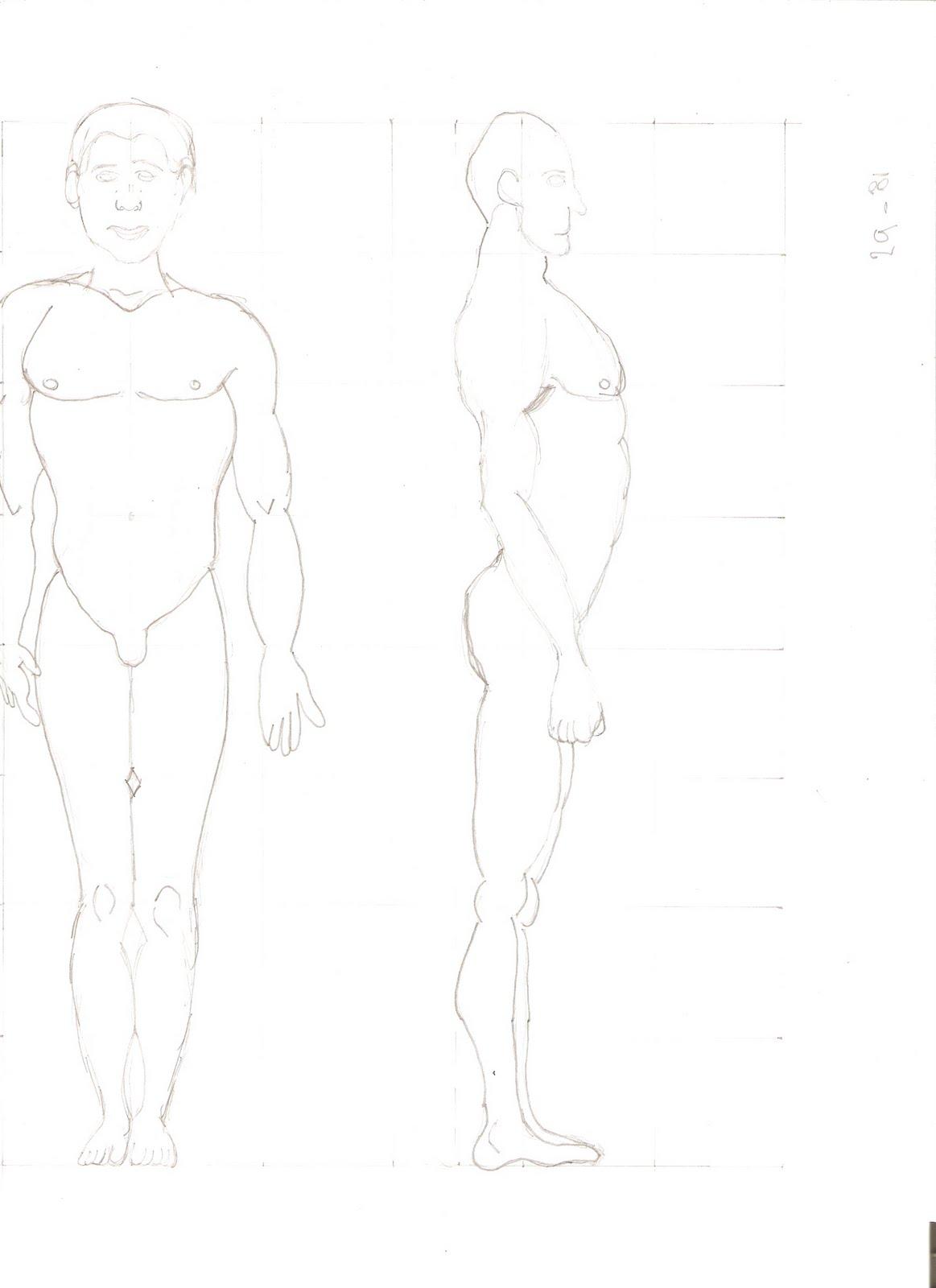 Bitacora Artes: Cuerpo humano entero