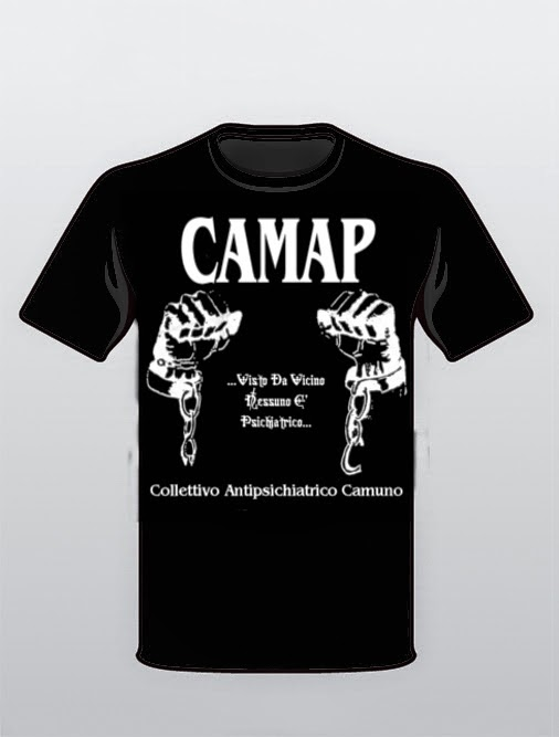 Magliette CAMAP di Autofinanziamento