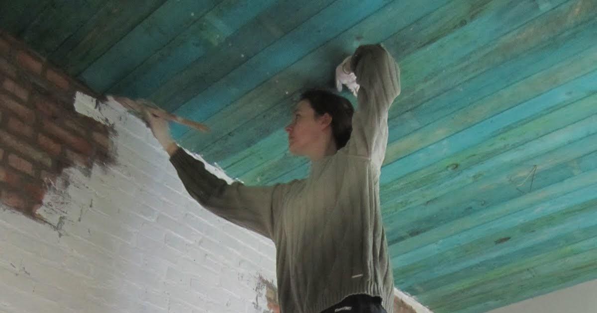Bakstenen Binnenmuur Behandelen : Bakstenen muur fixeren