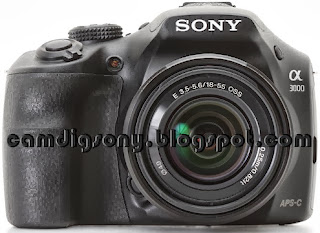 Harga dan Spesifikasi Lengkap Kamera Mirrorless Sony Alpha 3000 (ILCE-3000K)