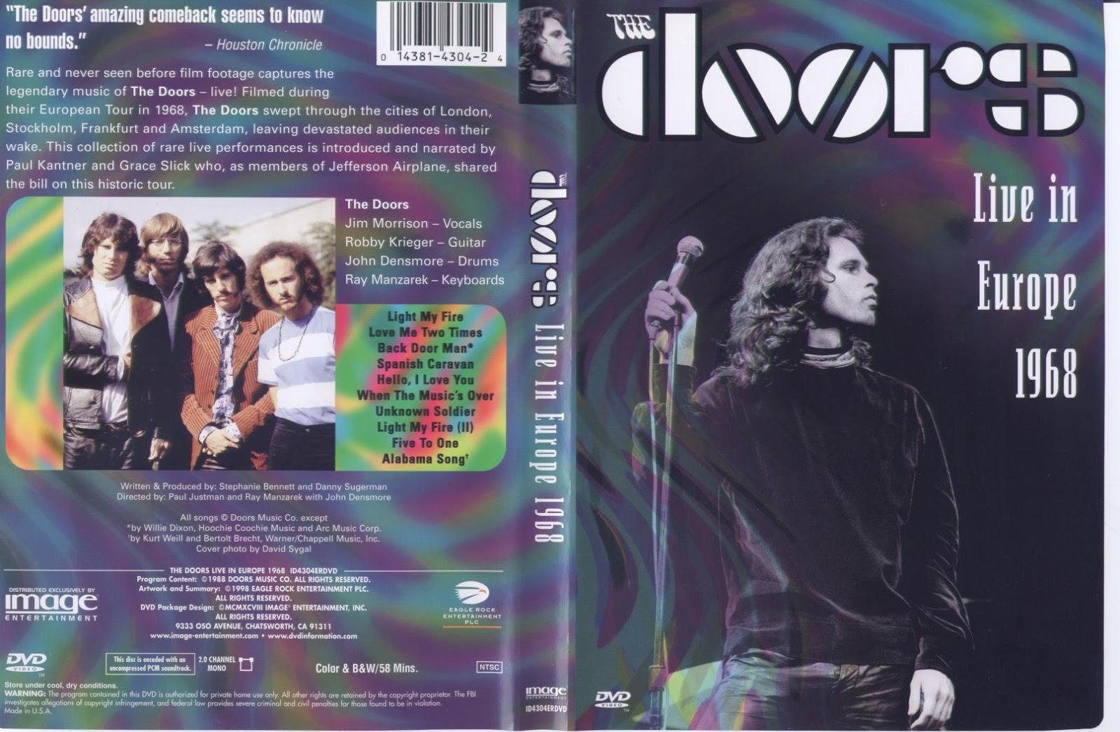 The Doors - Live In Europa 1968  sc 1 st  Catálogo Dvd Música & Catálogo Dvd Música: The Doors - Live In Europa 1968