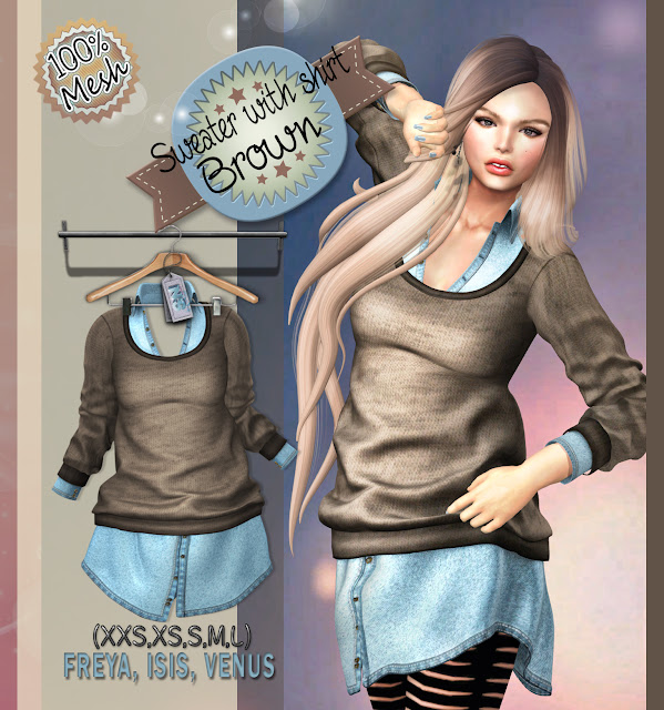 https://marketplace.secondlife.com/p/NS-Mesh-Sweater-and-Shirt-Brown/8091150