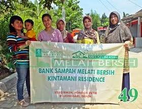 Bank Sampah Melati Bersih Kintamani Residence Pondok Petir Bojongsari Depok