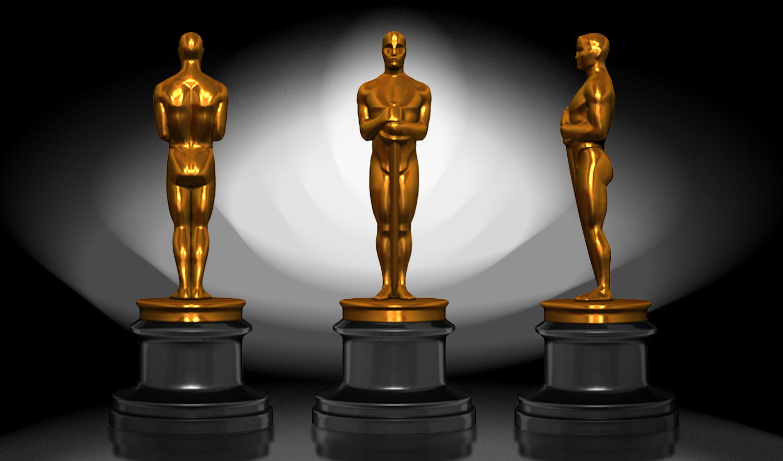 Oscar Statue Template 69111