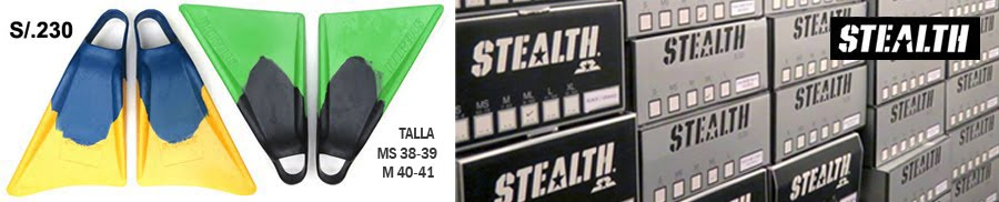 PUBLICIDAD STEALT SWINFINS 900