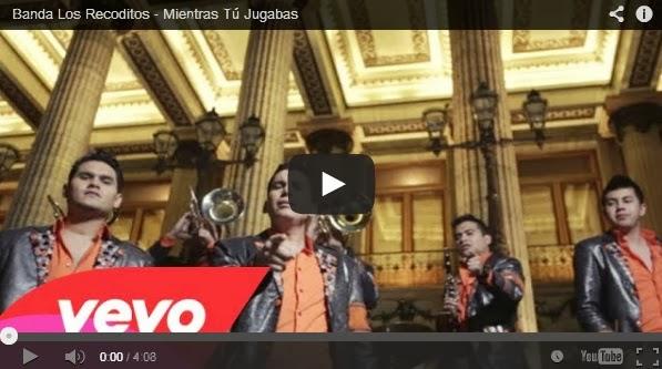 Banda Los Recoditos - Mientras Tú Jugabas - VIDEO OFICIAL 2014 ESTRENO